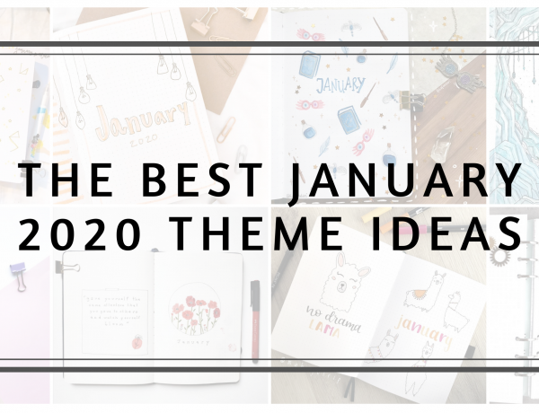Feature image the best January theme ideas 2020