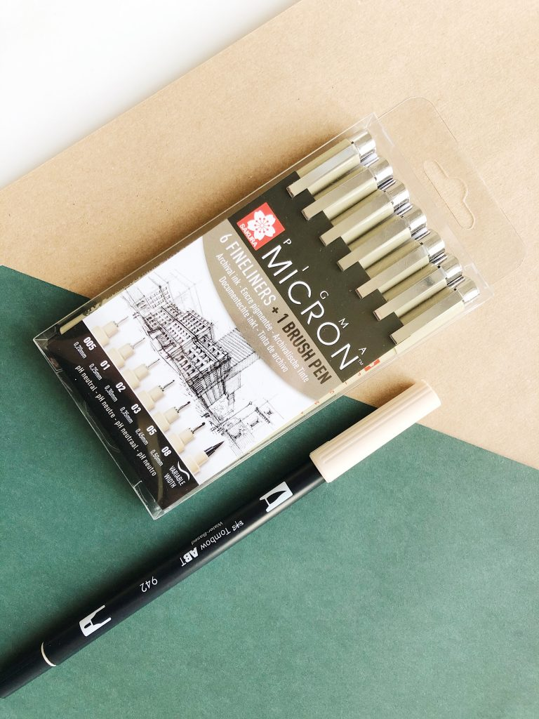 Stationery haul #1 Tombow and pigma micron