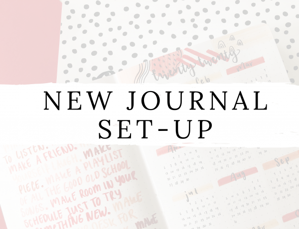 Feature image - new journal set-up