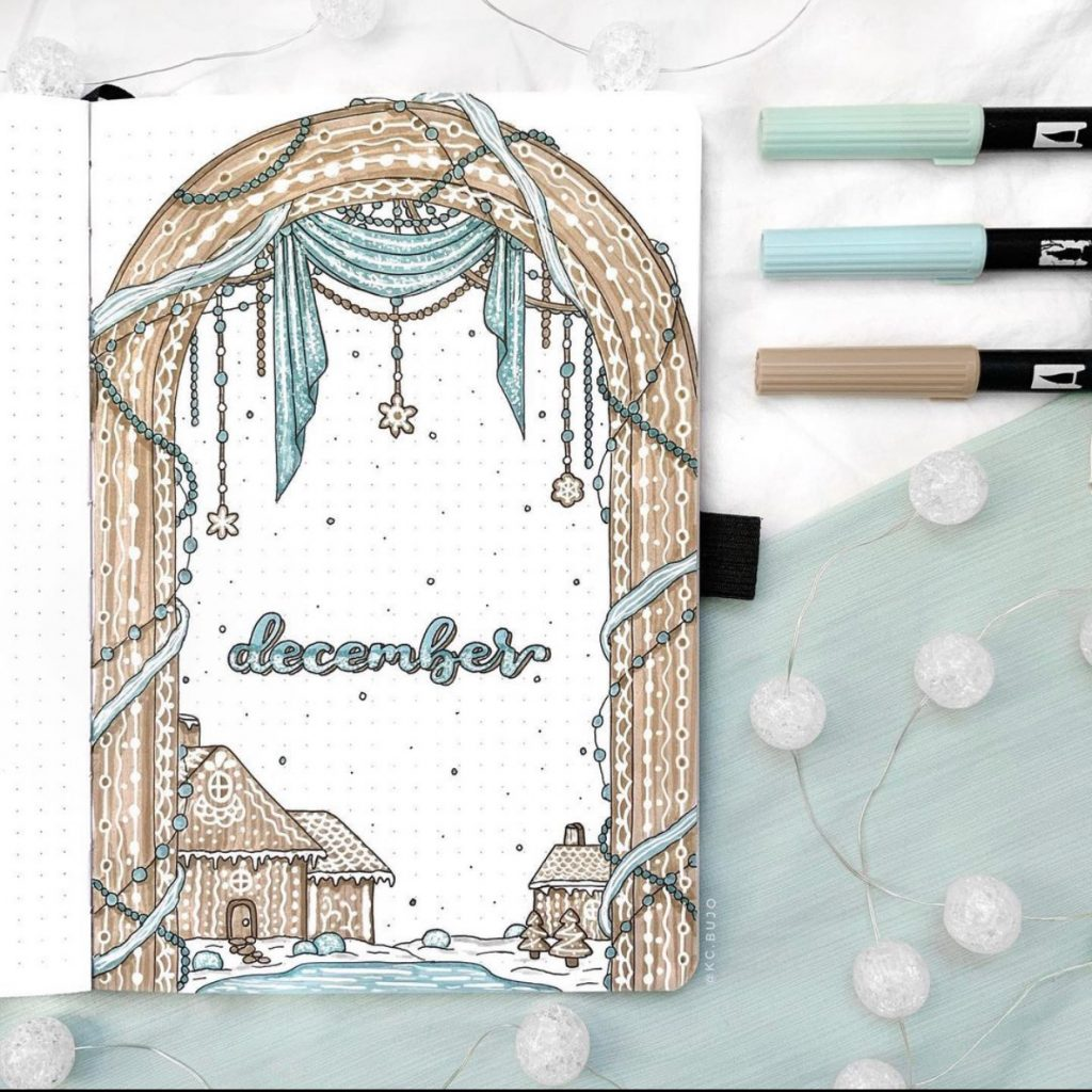 The Best Bullet Journal Themes Of 2020 - @kc.bujo
