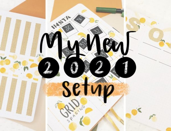 mid-year bullet journal set-up 2021